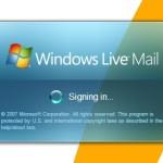 Windows Live Mail pozostaje w trybie OffLine.