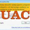 Wyłączenie kontroli konta użytkownika (UAC) w Windows 10