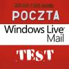 Który program do poczty eMail okaże się najlepszy? Testujemy Windows Live Mail.